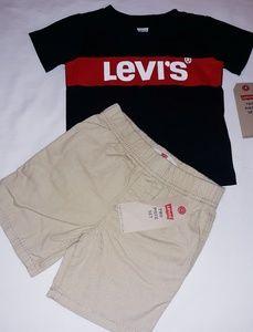 Levi's Boys Infant 2pc Short Set